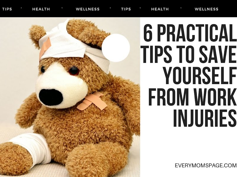 6 Practical Tips to Save Yourself from Work Injuries