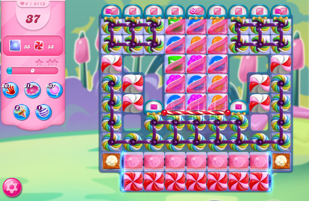 Candy Crush Saga level 8113