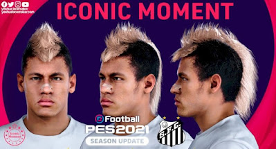 PES 2021 Faces Neymar Jr 2011 by Yeshua