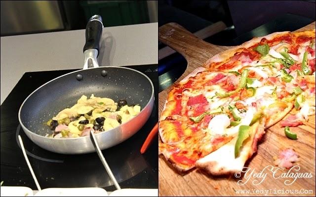 Fresh Pasta and Pizza at Vikings Buffet SM Megamall