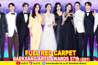 BAEKSANG ARTS AWARDS 57th 2021