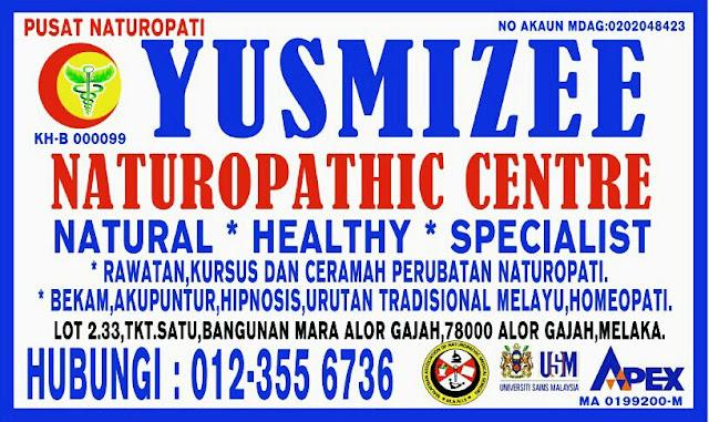 Yusmizee Naturopathic Centre, Alor Gajah Melaka