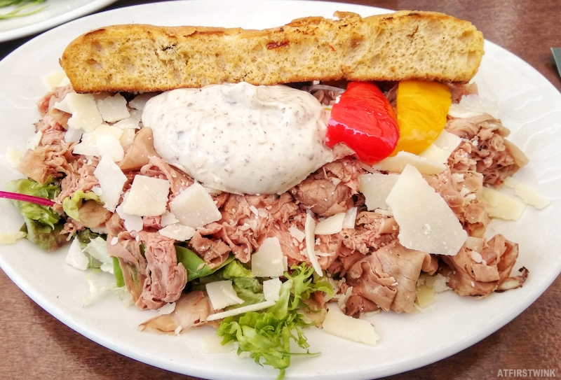 Guliano rotterdam Netherlands bistecca sandwich bread