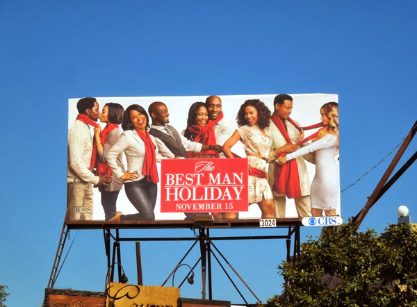 Best Man Holiday film billboard
