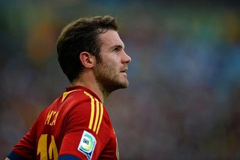 Juan Mata chơi không tốt trong ĐT Tây Ban Nha