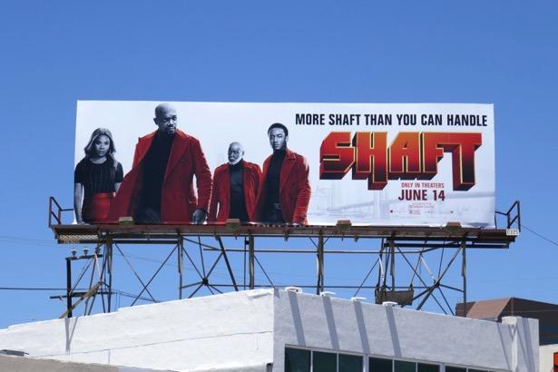 Shaft movie remake billboard