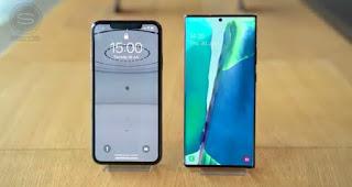SAMSUNG GALAXY NOTE 20 VS I PHONE 11 PRO MAX:REVIEW