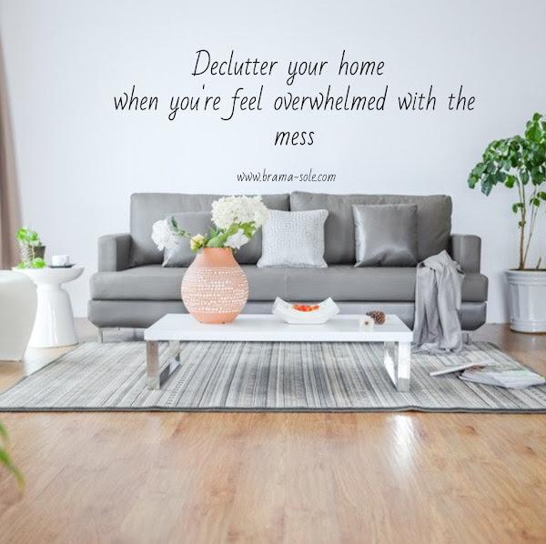 Declutter Rumah agar terasa lebih nyaman