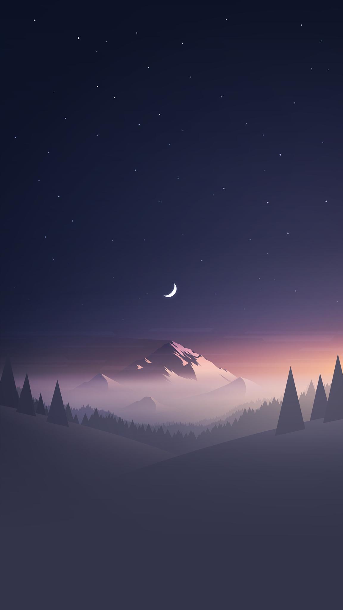 Mountain minimalist wallpaper