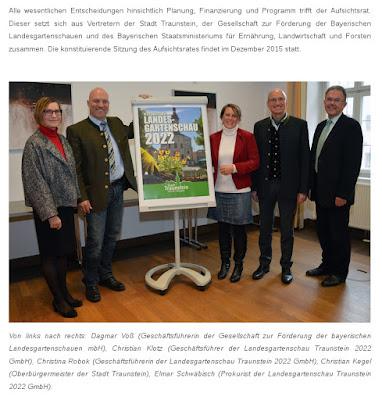 Landesgartenschau Traunstein Aufsichtsrat