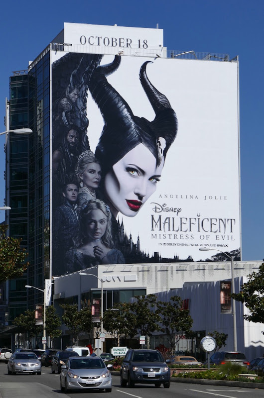 Daily Billboard Maleficent Mistress Of Evil Movie