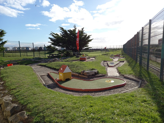 Crazy Golf at the MiniLinks in St Annes on the Sea