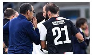 Higuain needs spoiling one day and beating against a divider the following, says Juventus supervisor Sarri..