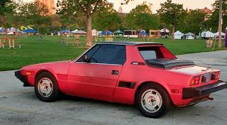 1986 red Bertone X 1/9