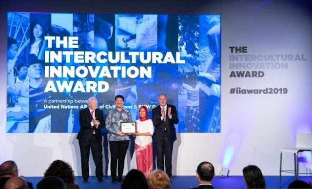 "Proyek ""Milenial Islami"" Indonesia Raih Intercultural Innovation Award"