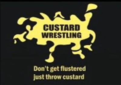custard wrestling