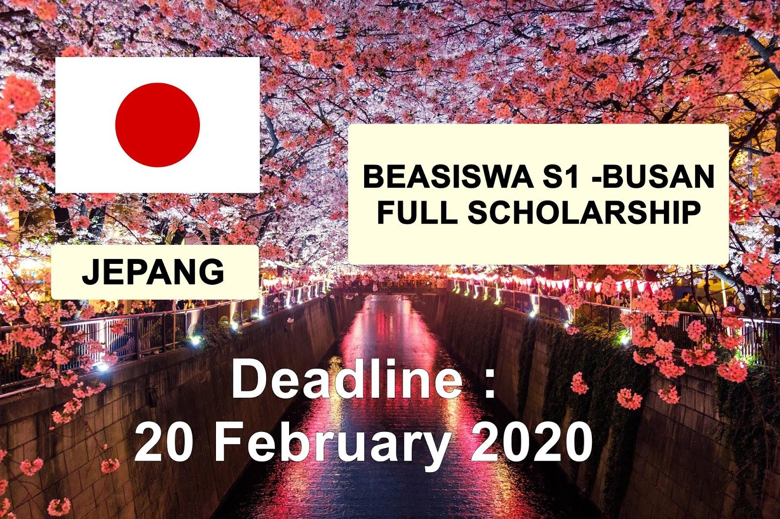 BEASISWA KULIAH GRATIS S1 JEPANG 2020 Mitsui - Bussan ...