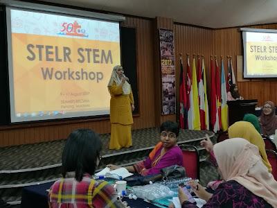 Bengkel STELR STEM 2017 di RECSAM