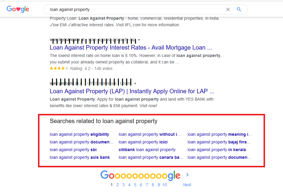 Google Is Making Changes To Related Search Area Present At The Bottom Of Result Pages
