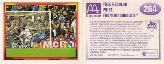 1//2 #53 Barnsley Merlin Premier League 98-Foto de Equipo