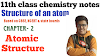 Class 11 handwriting notes pdf !! STRUCTURE OF ATOM !! Unit- 2