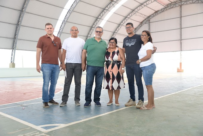 Prefeito Luciano da Locar e o Vereador Dudu de Nilda visitam obras e avaliam investimentos para Novo Paraíso