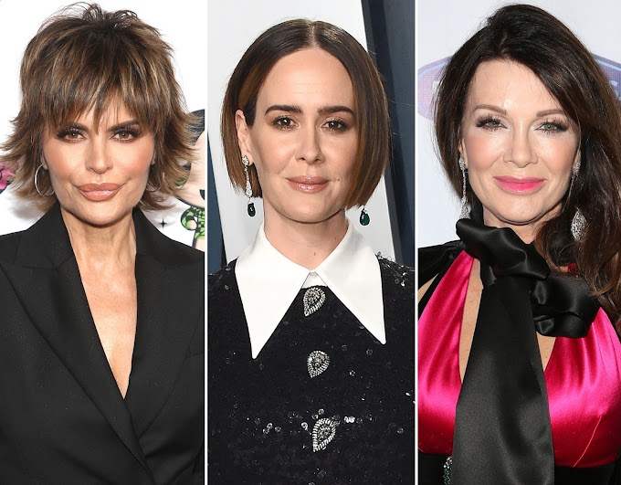 Sarah Paulson Doubles Down On Saying Lisa Vanderpump 'Wasn't That Nice' To Her When They Met, Lisa Rinna Weighs In And Shows Her Support To Sarah!