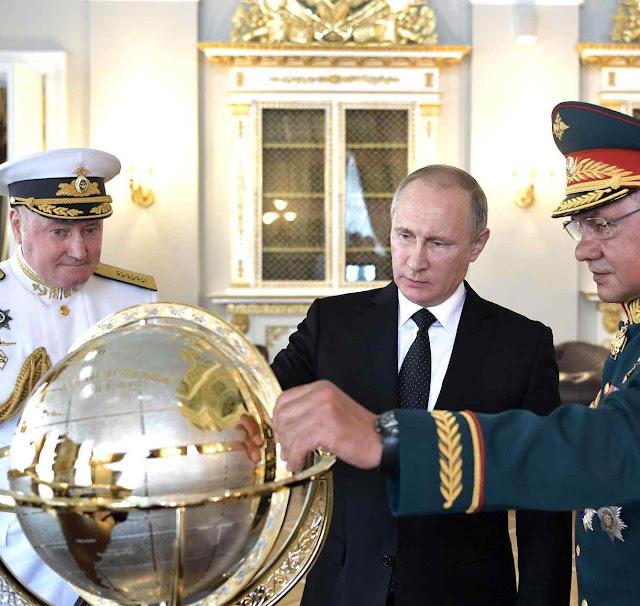 A conquista russa do mundo quer ser mais psicológica do que física
