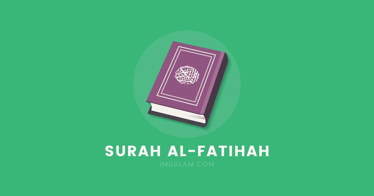 surah al fatihah rumi dan arab