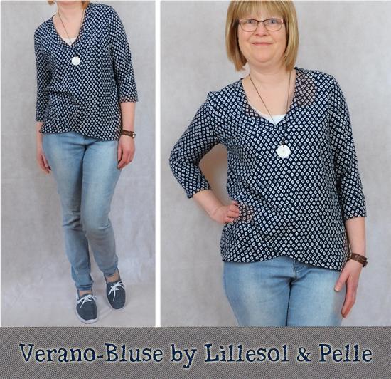 Verano-Bluse Nr. 17 by Lillesol & Pelle