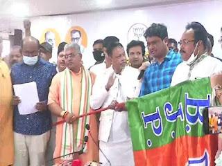 ममता बनर्जी की पार्टी छोड़ने वालों की लगी झड़ी, TMC के 5 विधायकों ने थामा BJP का दामन