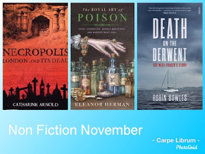 Titles Read by Carpe Librum for Non Fiction November 2019