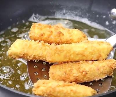 Egg fingers recipe