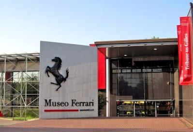 Museo Ferrari a Maranello...Luoghi da visitare in provincia di Modena.