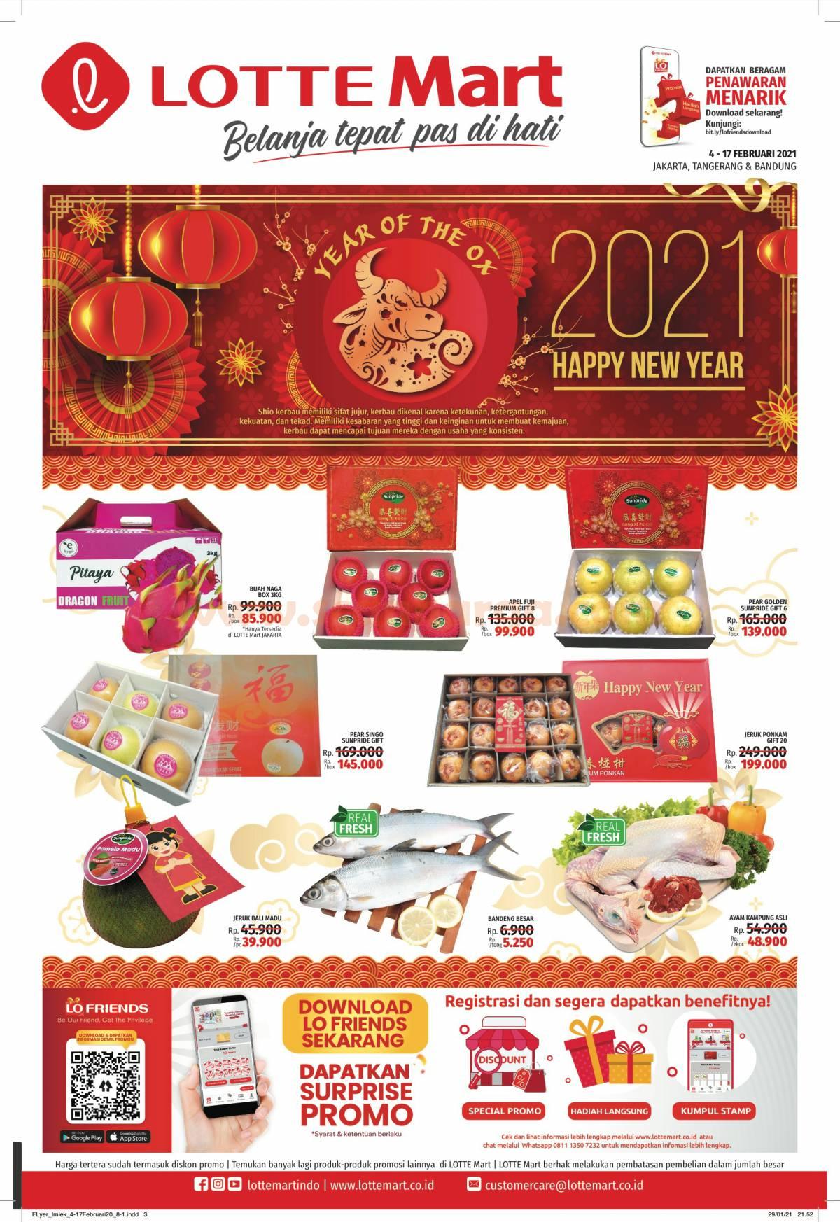Katalog Lottemart Flyer Promo Mingguan 4 - 17 Februari 2021