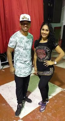 Leyla Barros e Thiago Rodrigues