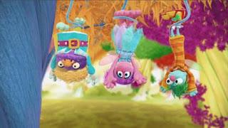 Abby Cadabby, Blögg, Gonnigan, Abby's Flying Fairy School Henking Day, Sesame Street Episode 4415 Rosita's Abuela season 44