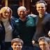 """J.K. Rowling visita o novo elenco de """"Cursed Child"""""""