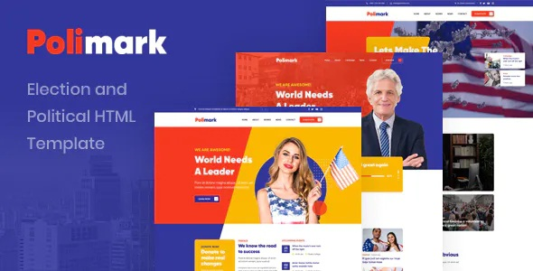 Election and Political HTML Template