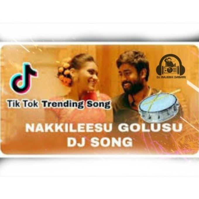 NAKKILEESU GOLUSU NEW SONG REMIX BY DJ RAJESH DASARI