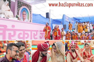 Navi Mumbai: Ninety-two couples got married under the sanctum sanctorum of Sadh Nirankari Mission, Sadguru Mata Sudhakshaji Maharaj, at a fascinating mass wedding ceremony organized by Sant Nirankari Mission here today. This event was organized at the same venue after the completion of the 52th Annual Nirankari Saints of Maharashtra, on the evening of this month.