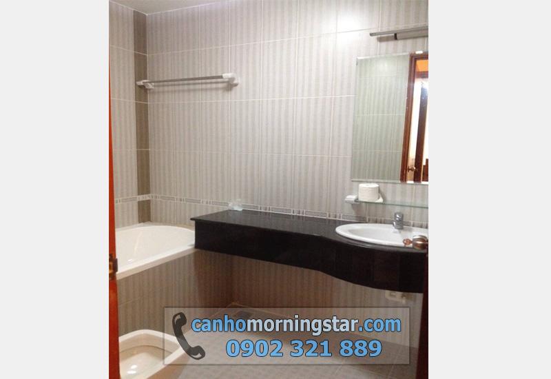 cho thuê căn hộ Morning Star quận Bình Thạnh 3PN - wc