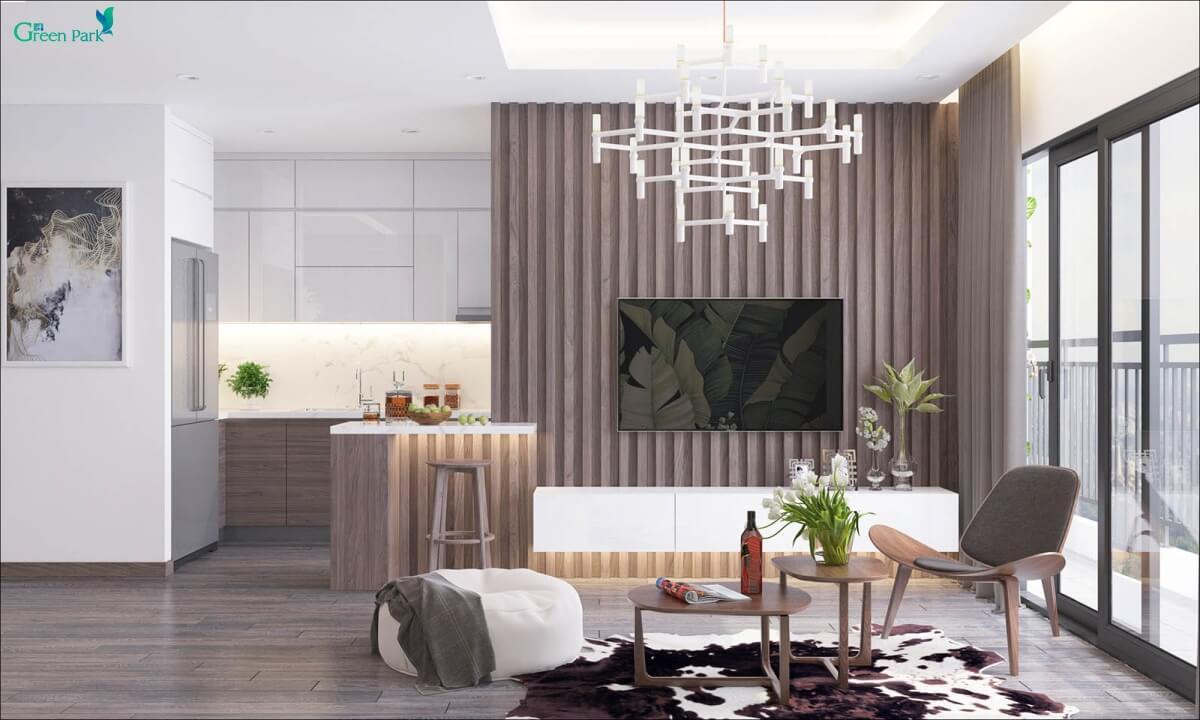 Thiết kế nội thất Phương Đông Green Park