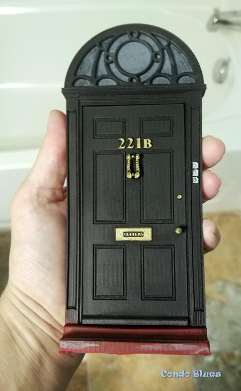 Sherlock Holmes fairy door
