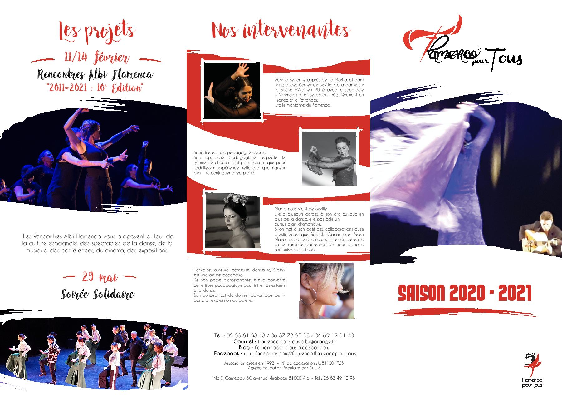 rencontres albi flamenca 2021