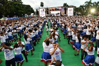 Bailadores de merengue de Dominicana rompen récord Guinness