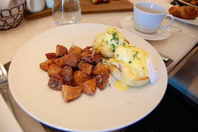 Hawksworth Restaurant brunch
