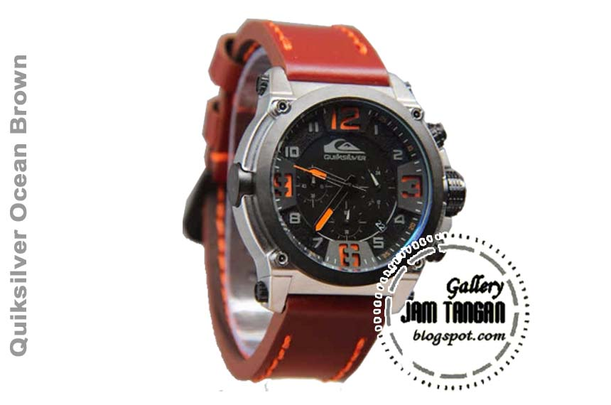 Jam Tangan Quicksilver Ocean Brown  74aac61712