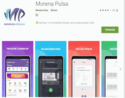 Aplikasi Morena Pulsa