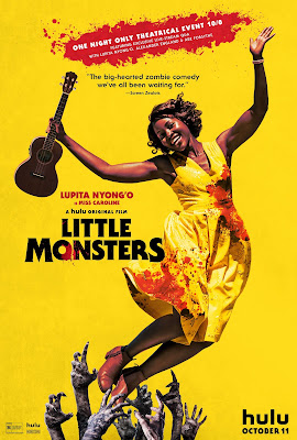 Lupita Nyong'o character poster for LITTLE MONSTERS (2019)!